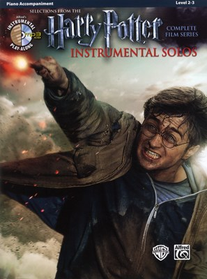 Harry Potter instrumental solos Piano Acc + CD  9780739088357