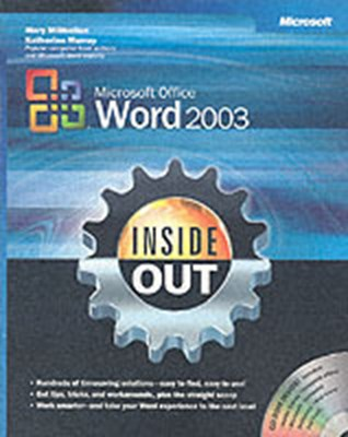 Microsoft Office Word 2003 Inside Out Mary Millhollon, Katherine Murray 9780735615151