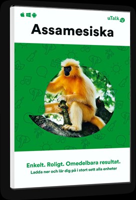 uTalk Assamesiska  9781787095335
