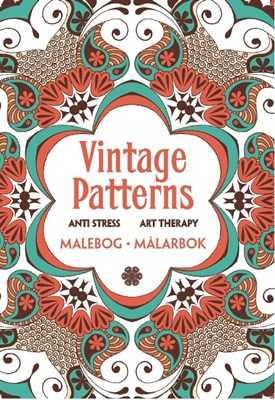 Vintage Patterns - Anti stress Art Therapy  9788771313314