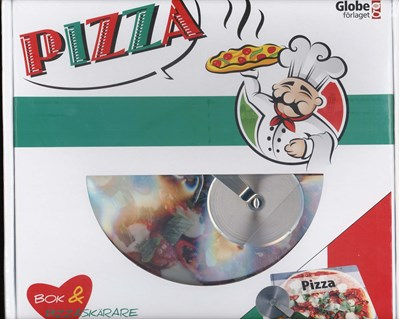 Pizza - box (bok & Pizzaskärare)  9789171662163