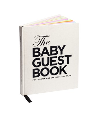 The baby guest book : for children who can handle the truth  9789197875882