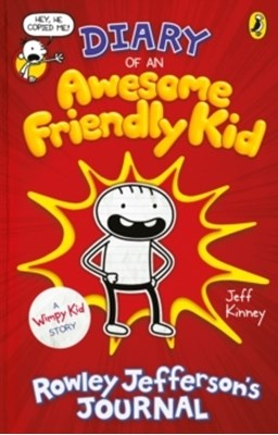 Diary of an Awesome Friendly Kid Jeff Kinney 9780241405604