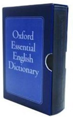 Oxford Essential English Dictionary Slipcase  9780192792815