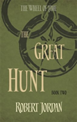 Great hunt Robert Jordan 9780356503837