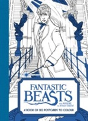 Fantastic Beasts and Where to Find Them: A Book of 20 Postcards to Colour  9780008204648