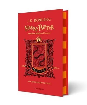 Harry Potter and the Chamber of Secrets - Gryffindor Edition J.K. Rowling 9781408898093