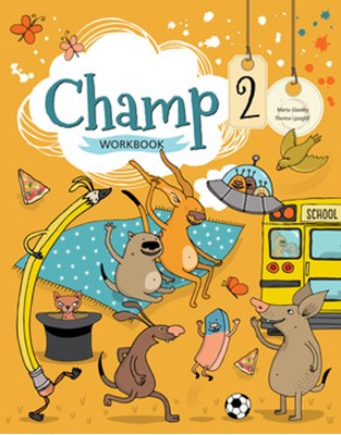 Champ 2 Workbook Therese Ljunglöf, Märta Glaveby 9789152341049