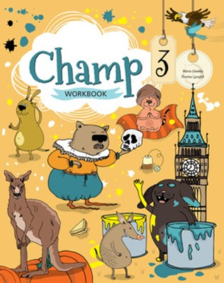 Champ 3 Workbook Therese Ljunglöf, Märta Glaveby 9789152341070