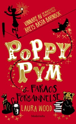 Poppy Pym och Faraos förbannelse Laura Wood 9789177817154