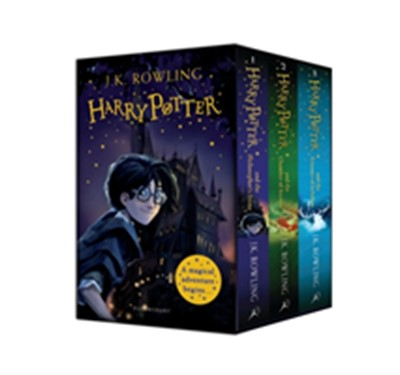 Harry Potter 1-3 Box Set: A Magical Adventure Begins J.K. Rowling 9781526620293