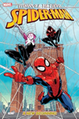 Marvel Action: Spider-Man: New Beginnings (Book One) Delilah S. Dawson 9781684055142
