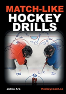 Match-like hockey drills Jukka Aro 9789178518500